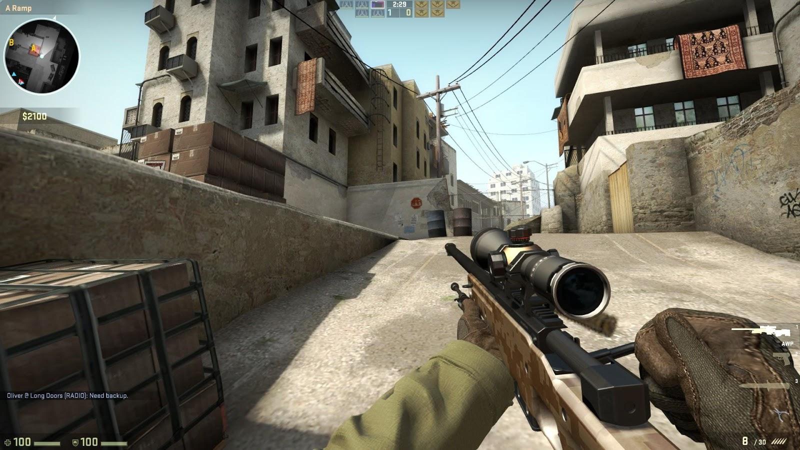 CSGO rifle